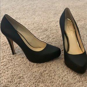 Super cute black Jessica Simpson heels